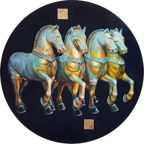 "Iwo Birkenmajer  ""St. Mark's horses"""